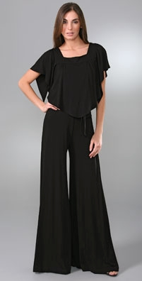 Alice + Olivia Flutter Sleeve Jumpsuit - shopbop.com from shopbop.com