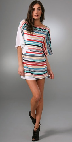Kingsley Kimono Tunic Dress - Alice + Olivia from shopbop.com