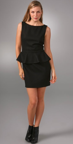 Alice + Olivia Peplum Dress