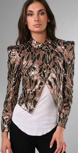 Alice + Olivia Luiza Embellished Jacket from shopbop.com