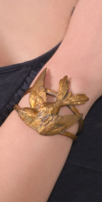 Alkemie Jewelry Hummingbird Cuff