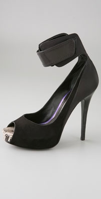 Barbara Bui Open Toe Platform Pump with Broad Ankle Strap - shopbop.com from shopbop.com