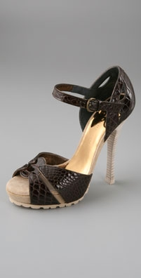 Barbara Bui Instep Platform Sandals with Ripple Sole - shopbop.com from shopbop.com