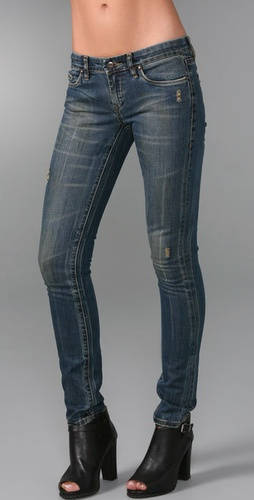 Blank Denim Classique Skinny Jeans from shopbop.com