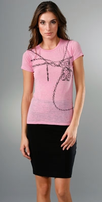 Bop Basics Nicky Hilton Breast Cancer Awareness Tee