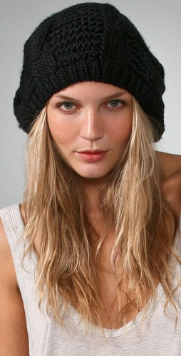 Thick Knit Beret - Bop Basics from shopbop.com