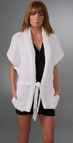 Brochu Walker Beach Wrap Cardigan