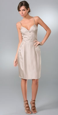 Brian Reyes Corset Slip Dress - shopbop.com from shopbop.com