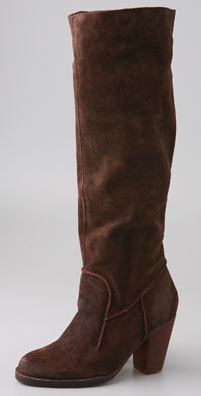 Bronx Footwear Yannick Suede High Heel Boot