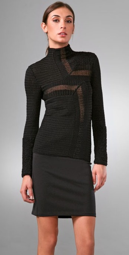 Calvin Klein Collection Larry Sweater at Shopbop.com image