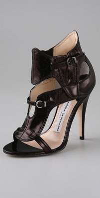 Camilla Skovgaard Glazed Ankle Buckle High Heel Sandal