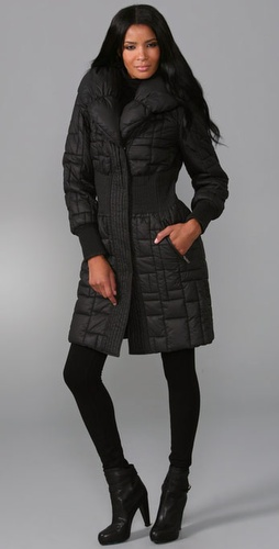Catherine Malandrino Long Puffer Jacket
