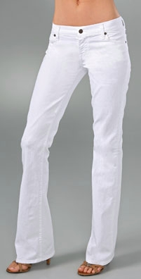 Citizens of Humanity Kelly Boot Cut Tall White Jean