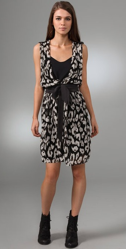 Club Monaco Evelyn Wrap Dress from shopbop.com