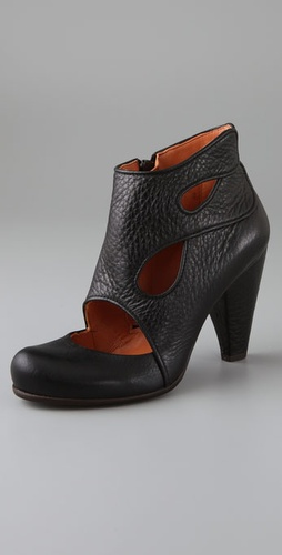 Oak Cutout Booties - Coclico Shoes from shopbop.com
