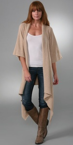 Covered Asymmetrical Sweater