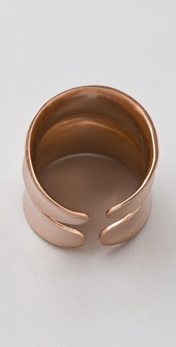 DANNIJO Jacinda Rose Gold Ring