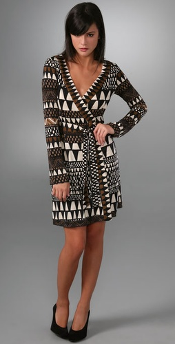 Diane von Furstenberg Voce Wrap Dress