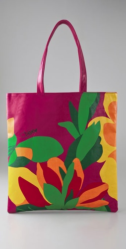 Diane von Furstenberg Tropical Garden Beach Tote
