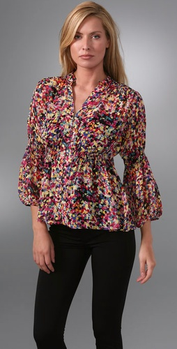 Diane von Furstenberg Zazu Top