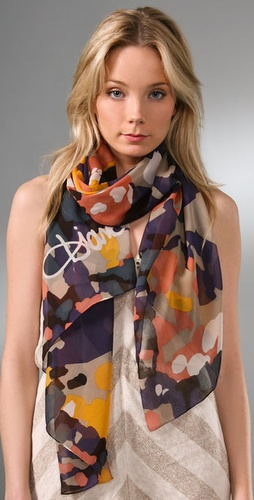 Diane von Furstenberg Washed Naqada Scarf