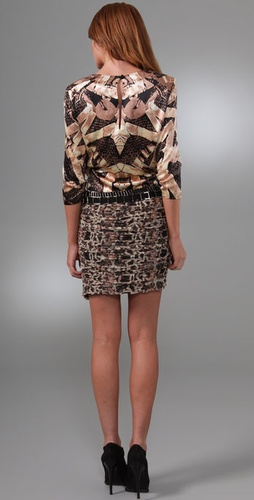 Diane von Furstenberg Piero Embellished Dress from shopbop.com