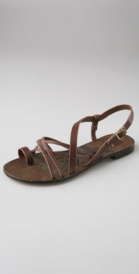 Dolce Vita Agave Strappy Sandals: $138