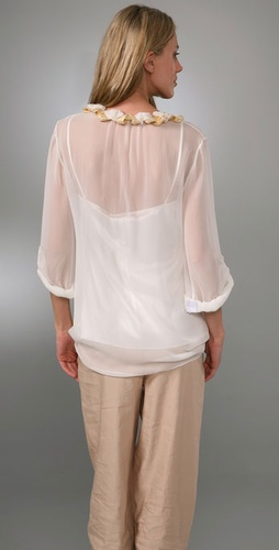 Elie Tahari Courtney Blouse from shopbop.com