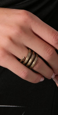 Elizabeth and James Snake Wrap Ring $100