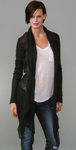 Elizabeth and James Scarf Wrap Cardigan