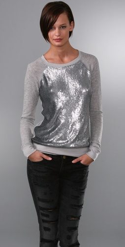 Elizabeth and James Sequined Sweatshirt