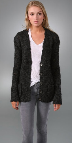 Button Over Cardigan Sweater - Elizabeth and James from shopbop.com