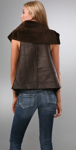 Shearling Vest - Elizabeth and James