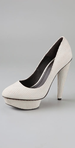 Elizabeth and James Mason Suede Platform Pumps from shopbop.com