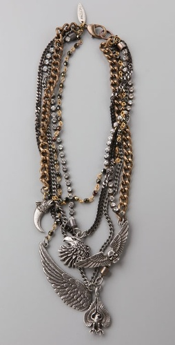 Fallon Jewelry Hells Angels Bib Necklace