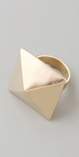 Fallon Jewelry Pyramid Ring