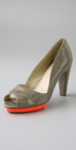 farylrobin Poppy Open Toe Platform Pumps from shopbop.com