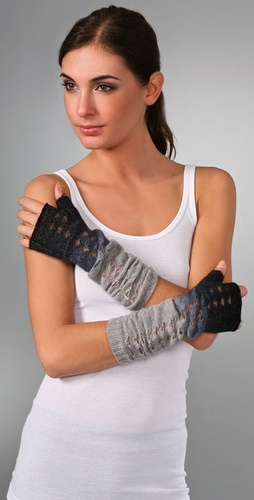 Fuzzy Bunny Arm Warmers - Free People from shopbop.com