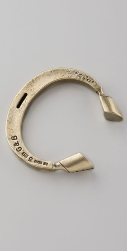 Giles & Brother Pied de Biche Cuff from shopbop.com
