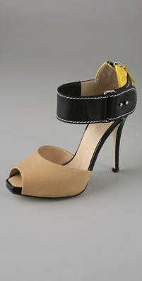 Giuseppe Zanotti Shoes Two Piece High Heel Sandals - shopbop.com from shopbop.com