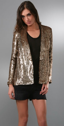Gryphon Sequin Smoking Jacket