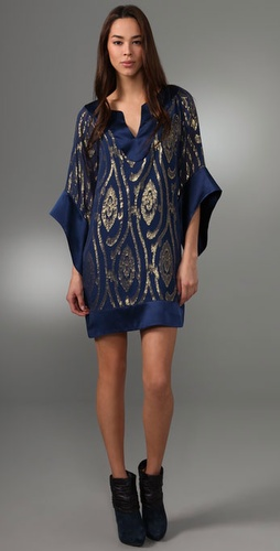 Halston Heritage Jacquard Mini Dress from shopbop.com