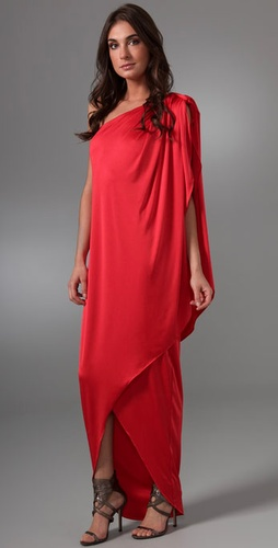 Halston Heritage Wrap Long Dress from shopbop.com