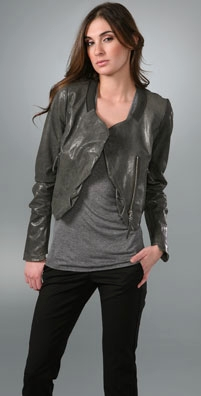 Hanii Y Cellena Leather Jacket - shopbop.com from shopbop.com
