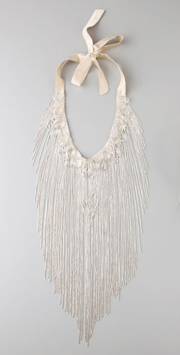 Haute Hippie Rock Fringe Necklace