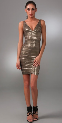 Herve Leger Sequin Dress from shopbop.com