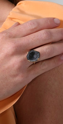 Jacquie Aiche Double Prong Geode Ring