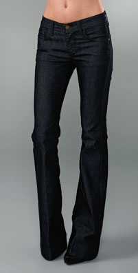 James Jeans - Dry Aged Denim Humphrey High Rise Flare Leg Jean