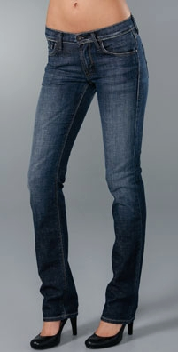 James Jeans - Dry Aged Denim Hunter High Rise Straight Leg Jean