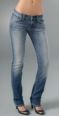 James Jeans - Dry Aged Denim Tom 5 Pocket Straight Leg Jean
